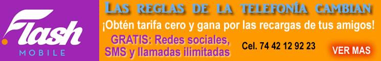 Flash Mobile :: Telefonía GRATIS :: VER MÁS